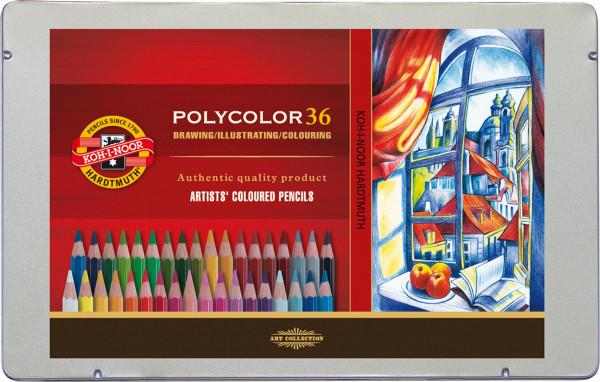 Koh-I-Noor Polycolor Färgpennor för konstnärer