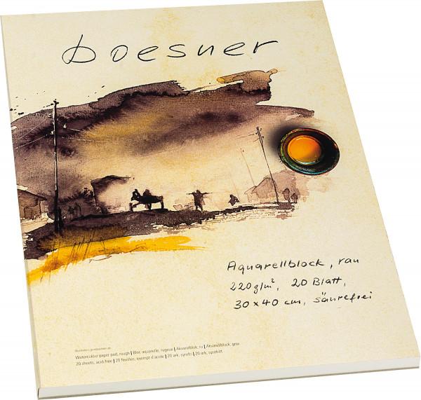boesner Akvarellblock