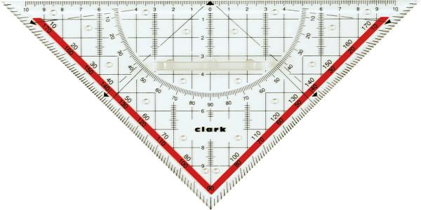 Clark Teknisk triangellinjal