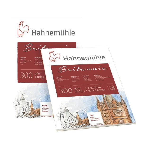 Hahnemühle Burgund Akademie akvarellblock