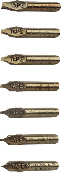 (Hiro) Bandzugfeder | Standardgraph Kalligrafiefedern
