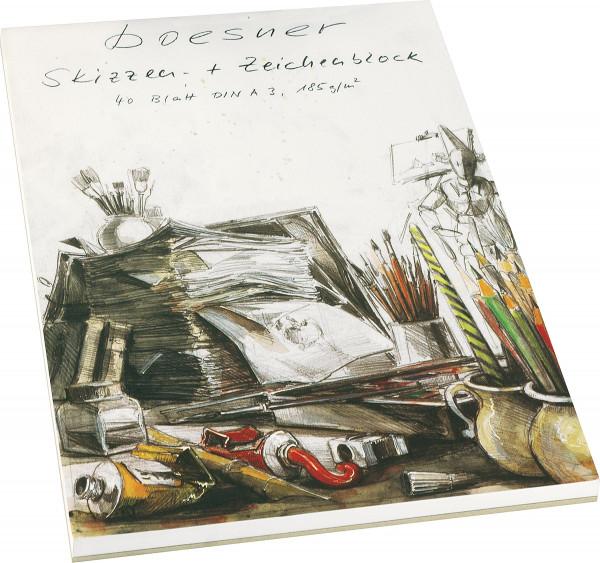 boesner Skisse-/Teckningsblock