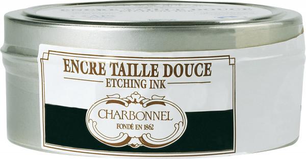 Charbonnel Svart 71303, djuptrycksfärg för koppartryck