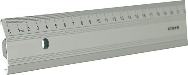 Clark Metall-Lineal mit Tuschekante