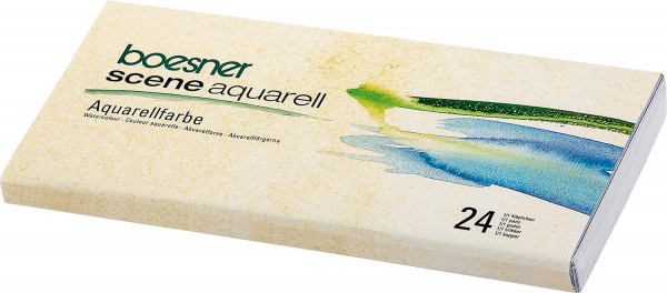 boesner – Scene Aquarell Akvarellfärger i studiekvalitet