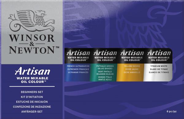 Winsor & Newton – Artisan Nybörjarsats för oljefärger