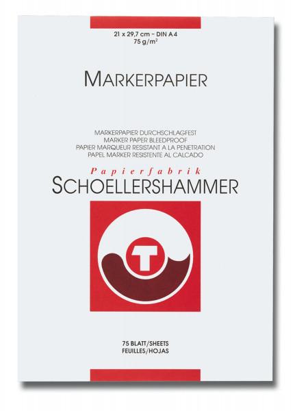 Schoellershammer Pappersblock för markeringspennor