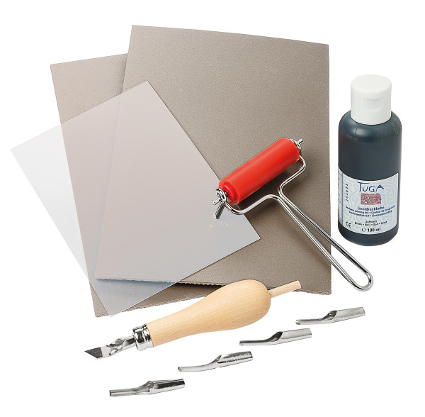 Go Create Einsteiger-Linoldruckset