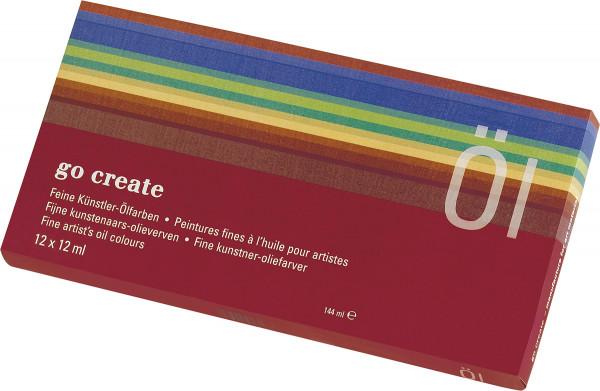 Go Create Ölfarben-Set