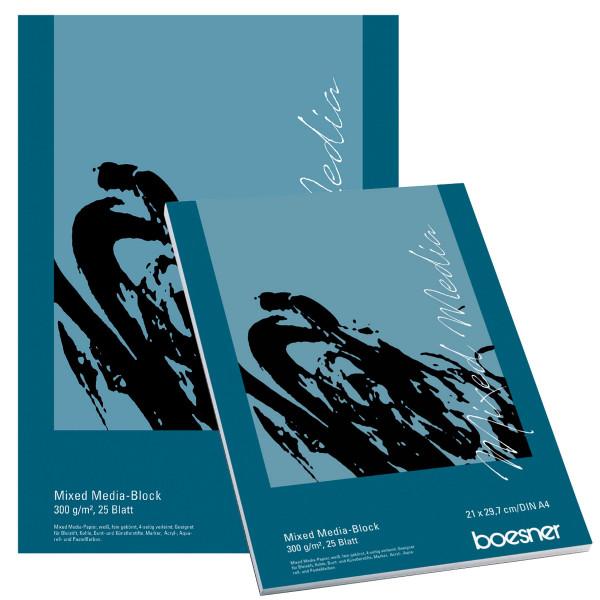 boesner Mixed Media-Papier
