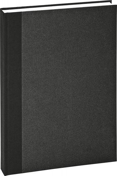 boesner Svart band Inbunden, 170 g/m², 128 sidor