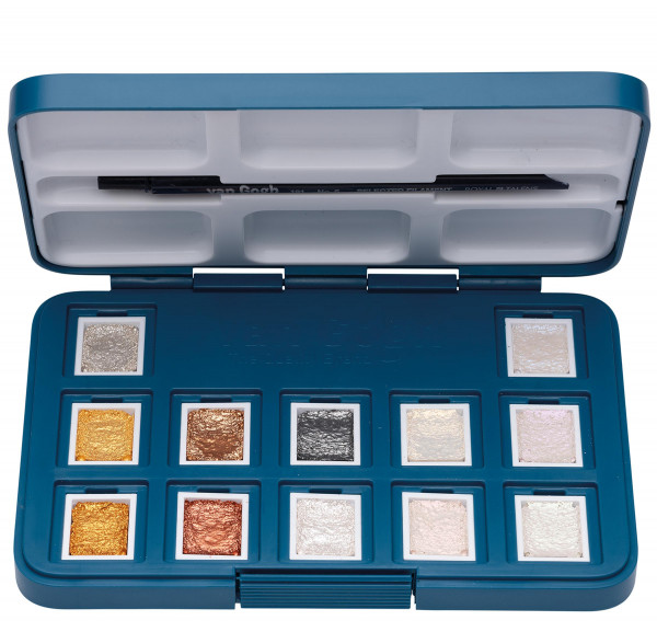 Spezial-Farbtöne | Talens Van Gogh Aquarellfarbe Pocketbox