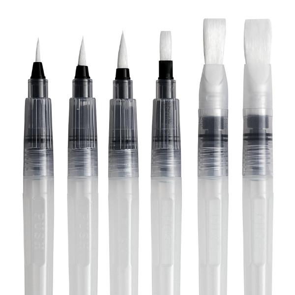 boesner Wassertankpinsel-Set | 6 Pinsel