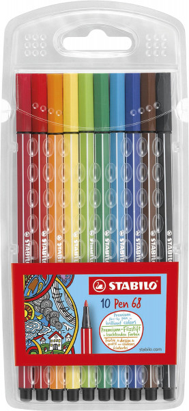 Stabilo Pen 68 filtpenna-set