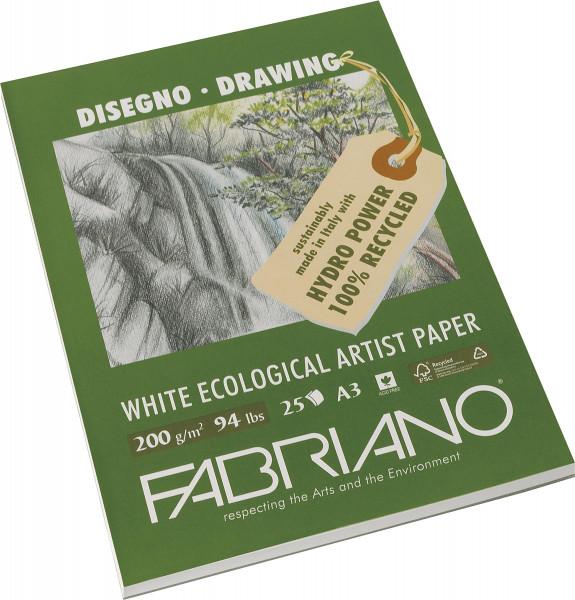 Fabriano Skiss-/Teckningsblock