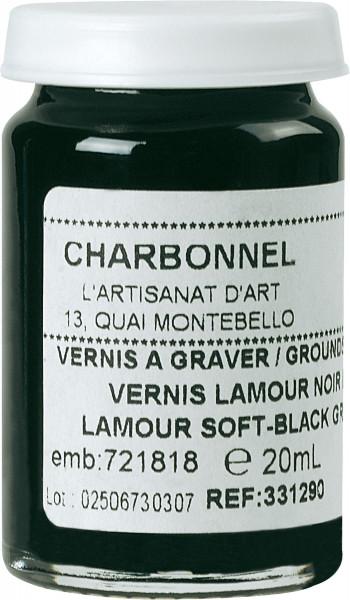 Charbonnel Vernis Lamour noir mou Lefranc